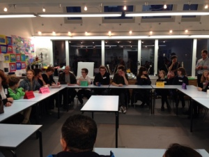 Drayton Park primary school in Finsbury Park held their first Meet the Parents event in September